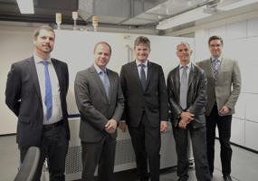 "Zum Artikel ""Inauguration of Germany's highest resolution lab-based X-ray microscope at FAU"""