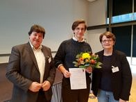 "Zum Artikel ""Thomas Distler (WW7) receives Best Master Thesis award of the German Society for Biomaterials"""